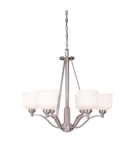 Savoy House 1-4664-6-69 Wilmont 6 Light Chandelier Pewter 6 - E -
