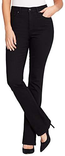 Gloria Vanderbilt Petite Amanda Boot Cut Jeans 16P Black by Gloria Vanderbilt
