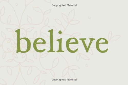 Believe: A gift to celebrate new beginnings