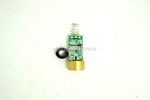 650MD-100-DIY-320 650nm 100mw Red Laser Diode Module w/lens and Lens holder for DIY