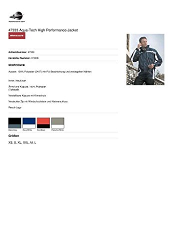 Result Aqua-Tech High Performance Team Jacket (Rot/Schwarz, Größe XXL)