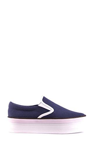 Jeffrey Campbell Mujer MCBI163019O Azul Tela Zapatillas Slip-On