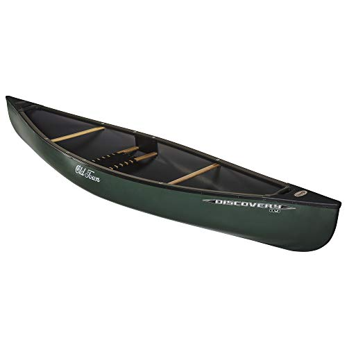 Old Town Discovery 119 Solo Canoe, Green, 11 Feet 9 Inches