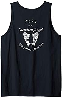 Son Guardian Angel  - Memorial Gift For Loss of Son Tank Top T-shirt | Size S - 5XL