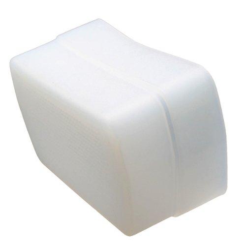 Pixco Flash Bounce Diffuser Softer Light Effects White Cap Diffuser Fluorescent and Warming Bounce Dome for Canon 580ex II Yongnuo YN-565EX YN-568EX YN560 III YN-560EX Meike MK910