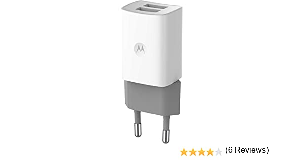 Motorola ASM6WCHGR - Cargador con USB de móvil, blanco
