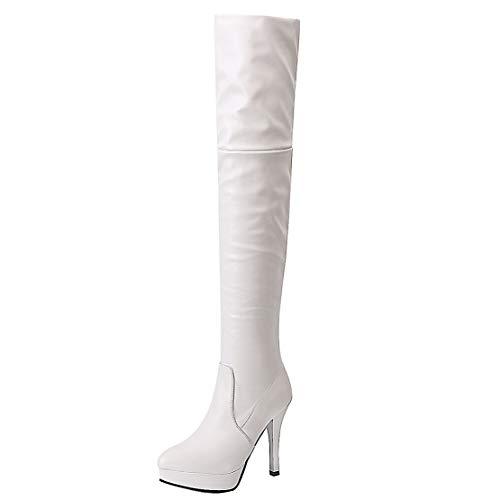 Bianco Stivali Aiyoumei Stivali Classici Aiyoumei Donna YxwTYZXRq0