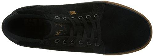 DC- jóvenes para hombre Council Mid S Mid Top Shoes negro (Gum)