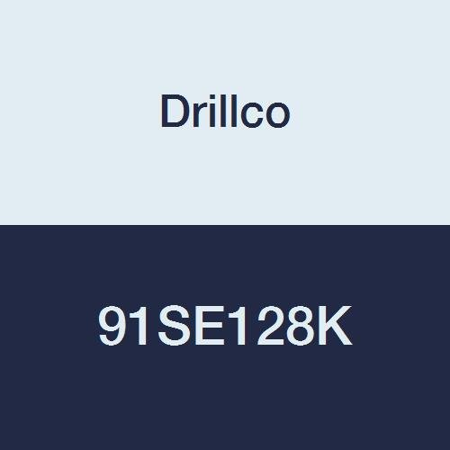 Drillco 91SE128K 7/16, Annular Cutters, 1'' Depth of Cut, High Speed Steel