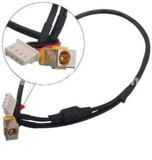 Cable Length: Other Computer Cables Yoton Laptop DC Power Jack with Cable for Acer Aspire 5920 5920G 6530 6530G 6930 6930G