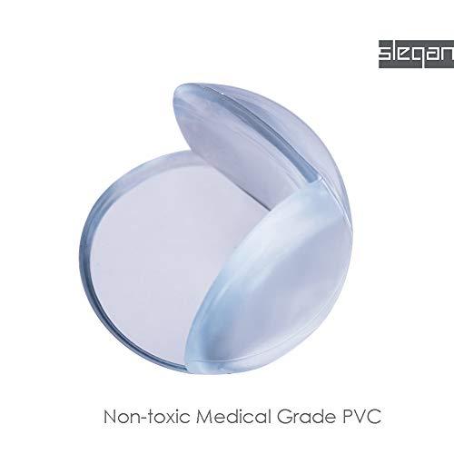 SLEGAN | Corner Protector | Medical Grade 12 Pack | Baby Proofing Corner Guards | Clear Corner Cover | Corner Bumper for Child Safety by Slegan (Image #4)