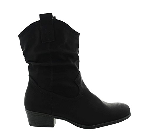 King Mujer Sintético Botas Para Negro De Material Of Shoes ZqavZ