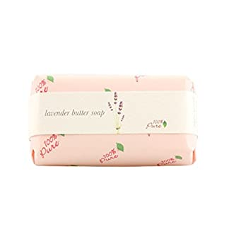 Natural Butter Soap by 100% Pure, Lavender, 4.5 oz