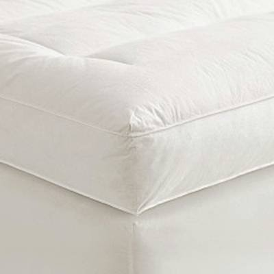 "4"" Queen Goose Down Mattress Topper Featherbed / Feather Bed"