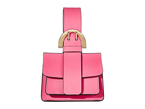 - ZAC Zac Posen Women's Biba Buckle Wristlet, Bubble Gum, Pink, One Size