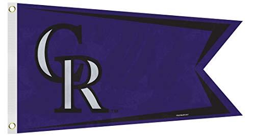 - MLB Colorado Rockies Boat and Golf Cart Flag