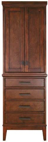 Avanity Madison 24 in. Linen Tower in Tobacco finish