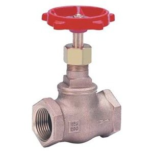 Globe Valve, 3/8 In NPT, Bronze, Screw In by Milwaukee Valve