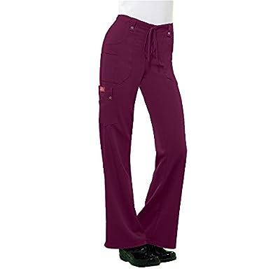 Dickies Xtreme Stretch Women's V-Neck Top 82851 & Drawstring Pant 82011 Scrub Set
