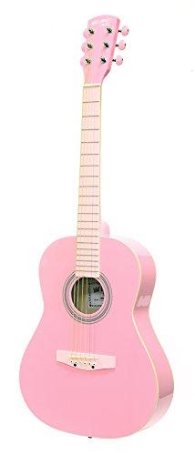 Pink Acoustic Guitar Set - 5
