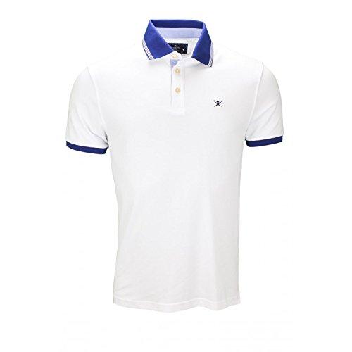 hackett-london-mens-mix-woven-trim-polo-shirt-small-white