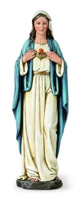 Woodington's Immaculate Heart of Mary 10 Inch ()