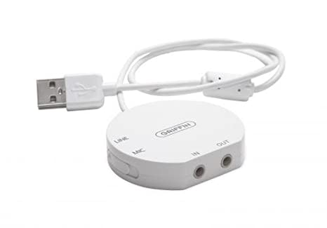 Amazon com: Griffin Technology iMic - The Original USB Stereo Input