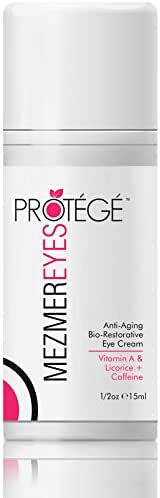 Anti-Aging Eye Cream - MezmerEYES - Best Treatment for Men and Women with Under Eye Bags, Dark Circles or Puffy Eyes - Moisturizer and Wrinkle Repair with Retinol, Hyaluronic Acid and Collagen