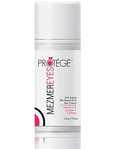 NEW! Anti Aging Eye Cream - MezmerEYES - Best Treatment for Men and Women with Under Eye Bags, Dark Circles or Puffy Eyes - Moisturizer and Wrinkle Repair with Retinol, Hyaluronic Acid and Collagen (Best Eye Cream For Women Over 40)