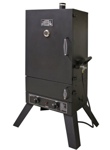 (Smoke Hollow 44241G2  44-Inch  Vertical Popane Gas Smoker)
