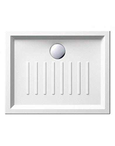 Piatto doccia in porcellana rettangolare mod. ito Misure: Cm 80x100 WEBMARKETPOINT