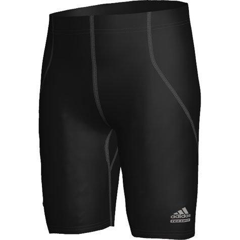 Adidas Techfit C&S Shirt Tight (P92093) Uomo Pantaloni Nero