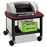 ** Impromptu Under Table Printer Stand, 20 1/2w x 16-1/2d x 14-1/2h, Black/Cherry **