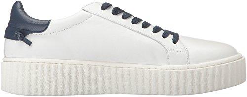 J Slides Jslides Dames Parker Mode Sneaker Wit / Marine