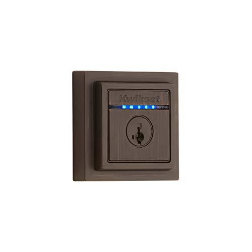 Kwikset 99250-209 Kevo Contemporary Square Single Cylinder T