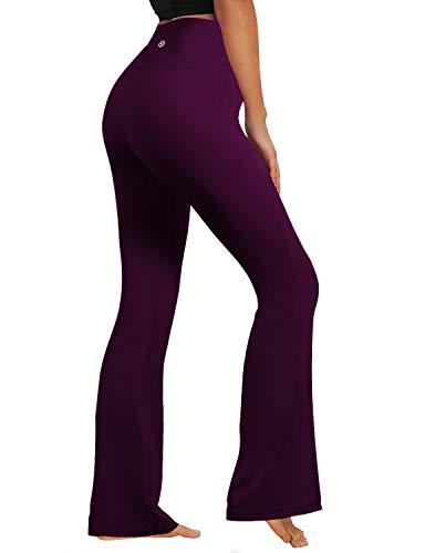 BUBBLELIME Bootleg Yoga Pants High Compressions Running Capris High Waist Moisture Wicking UPF30+