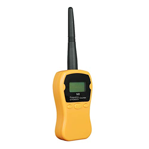 N8 Handheld Frequency Meter Counter Frequency Tester Analyze Device N8 Interphone Digital Analog Tone