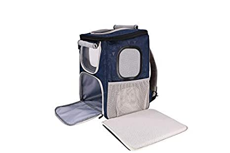 DODOPET Pet Backpack Carrier for Dog//Cat//Other Animals Up to 20 lbs