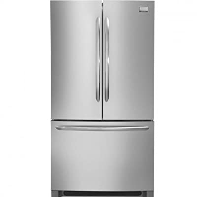 """Frigidaire FGHG2366PF 36"""" French Door Counter-Depth Refrigerator in Stainless Steel"""