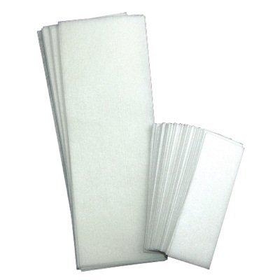 Fantasea Non-Woven Facial & Body Wax Strips. 100 Strips - 50 Small, 50 Large