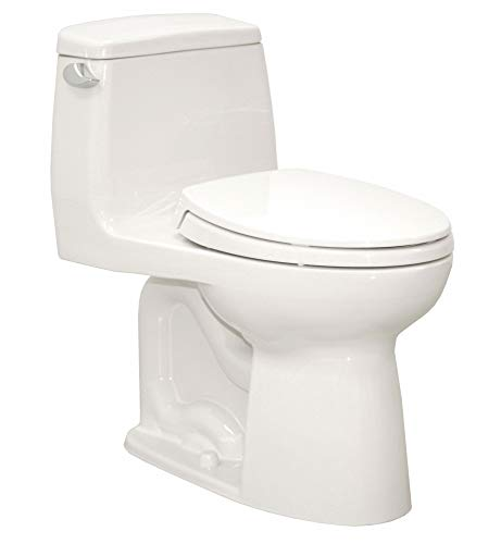 Flush Gallon Cotton 1.6 - TOTO Eco Ultramax One Piece Tank Toilet, 1.6 Gallons per Flush, Cotton