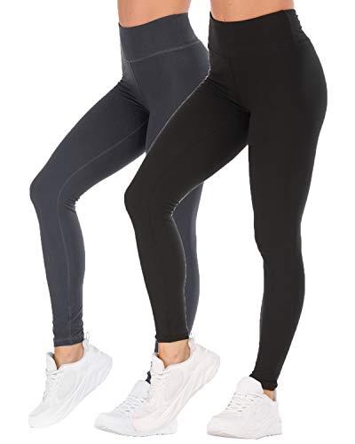 SVOKOR High Waisted Butter Soft Yoga Leggings for Women-4 Way Stretch Brushed Milk Silk Causal Pants (Women Milk Silk)