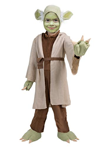 Princess Paradise Child Star Wars Yoda Jedi Master Costume - -