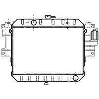 Van Wezel 11002038Ventilador, refrigeración del Motor