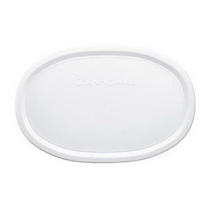 CORNINGWARE French White 23-oz Oval Plastic Cover ()
