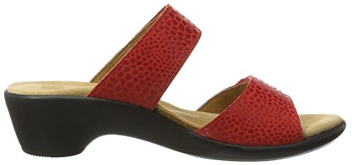 g Mujer Ganter Mules Rot Gemma red rosso 5F5rS4W8