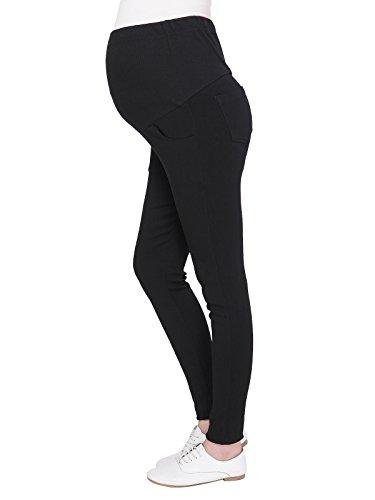 long black maternity dress pants - 5