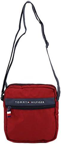 [トミー ヒルフィガー]TOMMY HILFIGER ショルダーバッグ TC090MT9 TH-830 MOTO MINI II 男女兼用 TOMMY RED [並行輸入品]