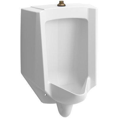 (Kohler K-4991-ET-0 Bardon High-Efficiency Urinal Wall hug White)