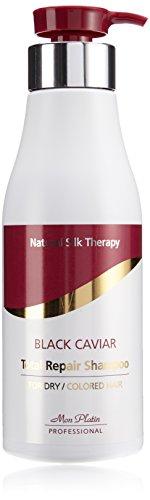 Mon Platin Natural Silk Therapy Black Caviar Shampoo (Black Caviar Total Repair 17oz)